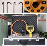 Endoscópios industriais com 360 graus de controle do manche, 5.0 '' LCD, cabo de teste de 1.5m