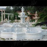 Fontana superiore di Metrix Carrara per la decorazione domestica Mf-873