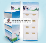 Изготовленный на заказ картон печатание рекламируя индикацию сделанную в сбываниях Китая горячих