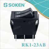 Sokenスイッチ倍のロッカースイッチT85はボタンを結び付ける