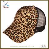 あなた自身の帽子のデジタル印刷のヒョウのトラック運転手の帽子の帽子を設計しなさい
