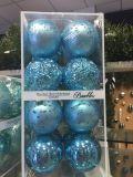 Neue materielle Weihnachtsdekoration-Kugeln mit Belüftung-Kasten-Verpackung (Soem-Willkommen)
