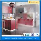 Декоративная стеклянная кислота вытравила матированное стекло для двери ванной комнаты, Windows, нутряных дверей