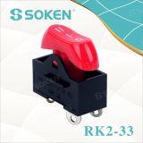 Interruptor de eje de balancín del secador de pelo