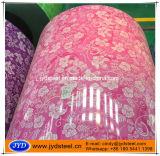 Acciaio stampato Coil/PPGI di colore con il reticolo di fiore