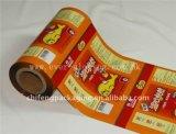 Pellicola stampata e laminata per l'imballaggio dell'alimento