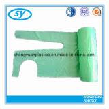 ISOの熱い販売の食品等級の使い捨て可能なプラスチックPEのエプロン