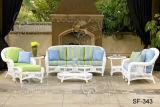 Insiemi esterni del sofà, mobilia del rattan del patio, insiemi del sofà del giardino (SF-343)