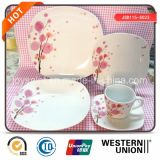 Установленный Dinnerware Китая косточки (JSD115-S023)