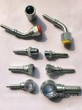 Tuyau en caoutchouc hydraulique tressé à haute pression R1 R2 1sn 2sn de fil d'acier
