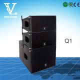 Q1 doppelte 10inch 2wegzeile Reihen-Lautsprecher für PA-System