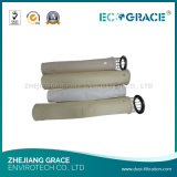 Filtro a sacco non tessuto di Aramid Nomex di filtrazione del gas della pianta dell'asfalto