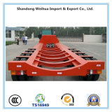 Lowbed popular Semi Itrailer com os 4 eixos do fornecedor de China