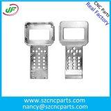 Schwarz pulverbeschichtet 6061 Aluminium CNC-Teile für Präzisionsgeräte