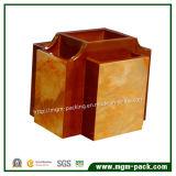 Papeterie en bois personnalisée de vente chaude d'organisateur de bureau