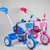 Triciclo del bambino con la barra di spinta, capretti triciclo, triciclo del bambino di Miti-Funzione