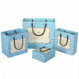 Sacs de empaquetage de plastique/papier avec le sac de trou de bride de fixation/traitement d'achats