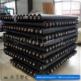 Couvre-tapis tissé par pp noir de 102GSM Weed pour le revêtement agricole
