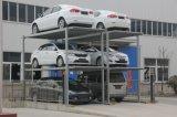 2 piattaforme per 6 automobili che fanno scorrere e che di sollevamento l'elevatore di parcheggio dell'automobile in pozzo