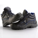 Zapatos de seguridad de cuero industriales (M-8175)