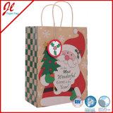Handle de papel Eco Paper Bags para Christmas Gifts