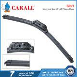 Carall S991のカントンの公平な元のタイプ自動予備品2017年の車のアクセサリOEMの品質の風防ガラス平らで柔らかいワイパー刃
