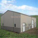 Construction de structure métallique pour l'atelier/entrepôt/bureau industriels