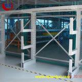 Rack de Side Arm Azul voladizo para almacenamiento de acero Junta