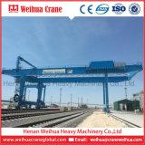 Prix hydraulique mobile sur rail de grue de portique de grue de conteneur