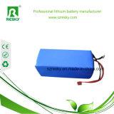 pacchetto pieghevole ricaricabile della batteria di 24V 36V 250W per la bici elettrica della lega