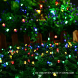 25 luzes ao ar livre solares coloridas decorativas da corda do diodo emissor de luz do partido do diodo emissor de luz
