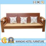 Mobilia di svago piegata giardino presidenza di vimini del sofà/del rattan