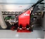 シーリングPVCおよびベニヤのための木製の端のバンディング機械