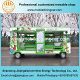 Kar van het Voedsel van het fruit en van de Vrachtwagen van Groenten de Elektrische Mobiele met Ce en SGS