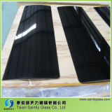 Toughened curvado Float Glass Panel para Range Hood com Silk Screen Printing