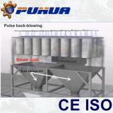 Cabine di brillamento di sabbia con il sistema pneumatico di ripristino
