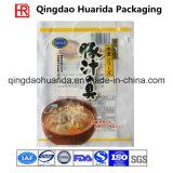 Sac de empaquetage en plastique stratifié d'aliments surgelés de FDA, sac de casse-croûte