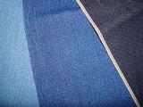 Красная чернота ткани простирания Twill джинсовой ткани Slub хлопка зальбанда