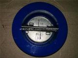 Двойной задерживающий клапан вафли плиты, ANSI125#