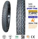 Neumático 3.50-18 de la vespa del neumático de la motocicleta de la moto