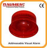 Rode Apparaat van het Alarm van veiligheidssystemen het Adresseerbare Visuele, (640-003)