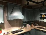 国様式の美しい純木の食器棚