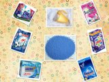 Laundry Powder Useのための青いSpeckles