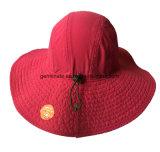 Sombrero impermeable de Sun del compartimiento de la manera en la tela 100%Polyester (LY101)