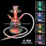 2015 Großverkaufglasmya-Huka Shisha königliche rauchende Huka