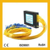 """de """" divisor do PLC da fibra óptica da caixa 1X2/1X4/1X8/1X32/1X64 Rack/ABS 1u 19"""