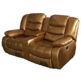Sofá Reclinável da Alta Qualidade para a Mobília da Sala de Visitas (GA03)