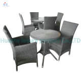 Sale chaud Sofa Outdoor Rattan Furniture avec Chair Table Wicker Furniture Rattan Furniture pour Outdoor Furniture avec Wicker Furniture