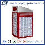 Potência solar Backlit lateral dobro que anuncia a caixa leve do diodo emissor de luz