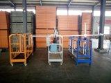 Andamio de la góndola de la construcción del bloqueo de seguridad para la limpieza
